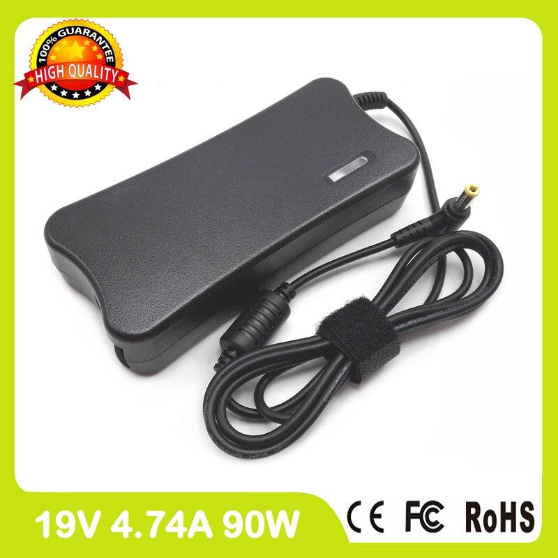 19 v 4.74a 90 watt laptop ladegerät ac adapter pa-1900-42 für asus...