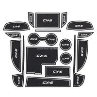 For 2014 Mazda CX 5 Gate Slot Pad Non Slip Cup Mats Anti Slip Door Groove