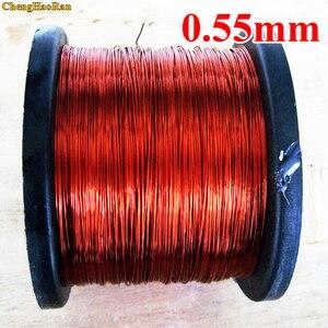 Image 2 - ChengHaoRan 0.55mm 1 m QA 1 155 fil émaillé polyuréthane 0.55mm qz 2 130 1 mètre