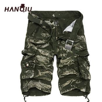 Military Cargo Shorts Men