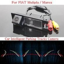Автомобиль Интеллектуальные Парковка Треков Камера ДЛЯ FIAT Mulipla/Marea/HD Резервного копирования Камера Заднего Вида/Камера Заднего вида