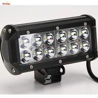 Heißer Verkauf 7 Zoll 36 Watt LED-Licht Bar für Offroad Lkw 4*4 SUV ATV Traktor