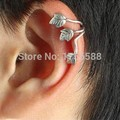 hot new style fashion wind leaves ear cuff clip earrings jewelry accessories Free Shipping