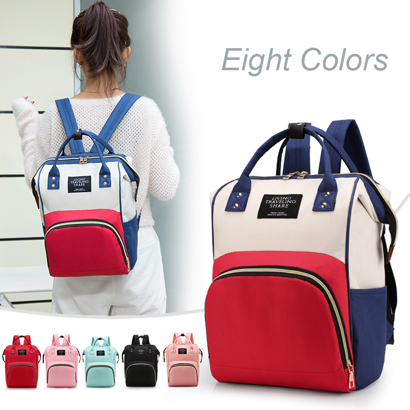 HTB1wF3 cA9E3KVjSZFGq6A19XXa8 Large Capacity Mummy Bag Maternity Nappy Bag Travel Backpack Nursing Bag for Baby Care Women's Fashion Bag