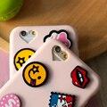 Для iPhone 6 6 s 6 Plus 6 s Плюс Милый Мультфильм 3D Case ультра Тонкий Мягкие TPU Силикона Любовника Чехол Для iPhone Капа Fundas Аксессуары
