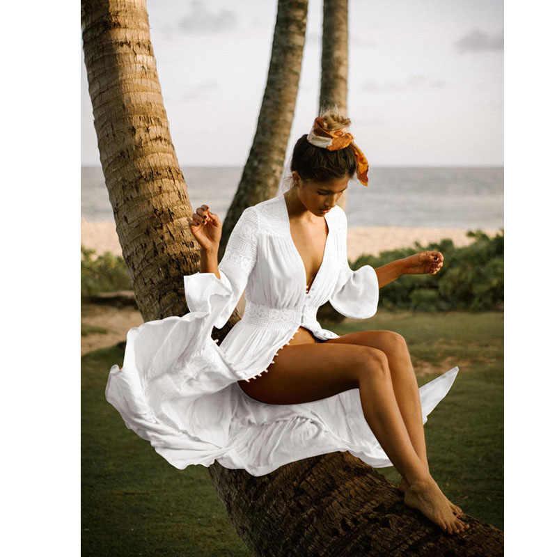 c4f65f8abb2 ... Summer Maxi Beach Dress Plus Size Long Beach Dresses And Tunic 2019  Sundress Boho Style Women ...