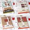 2017 Christmas Card Making Kit 6 Cards DIY Complete Cardmaking Kit Make Your Own Christmas Cards