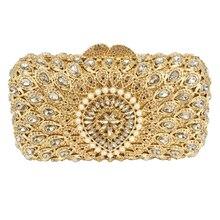 Pochette Soiree Frauen abendtasche Klassische Blume kupplung geldbörse Splitter Form Ausgefallene Muster Diamant Kristall taschen 88351