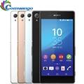 """Оригинальный Разблокирована Sony Z3 + Sony Z3 Plus E6533 4 Г LTE Мобильный Телефон 5.2 """"сенсорный экран 3 Г RAM 32 Г ROM Окта ядро"""