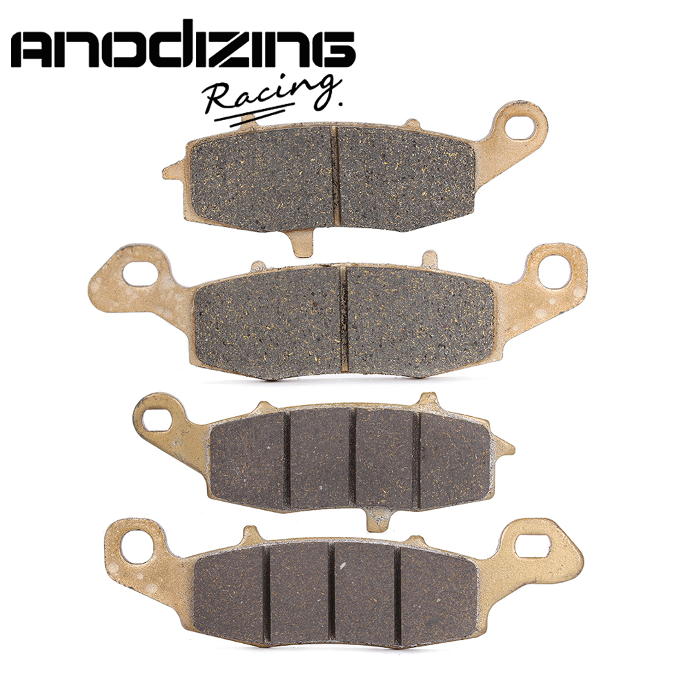 Motorcycle Front and Rear Brake Pads For KAWASAKI VN800 Drifter 1999-2006 VN900 Vulcan classic 2006-2014 motorcycle front and rear brake pads for for kawasaki vn 1700 vn1700 vulcan vaquero 2011 2014 black disc pad