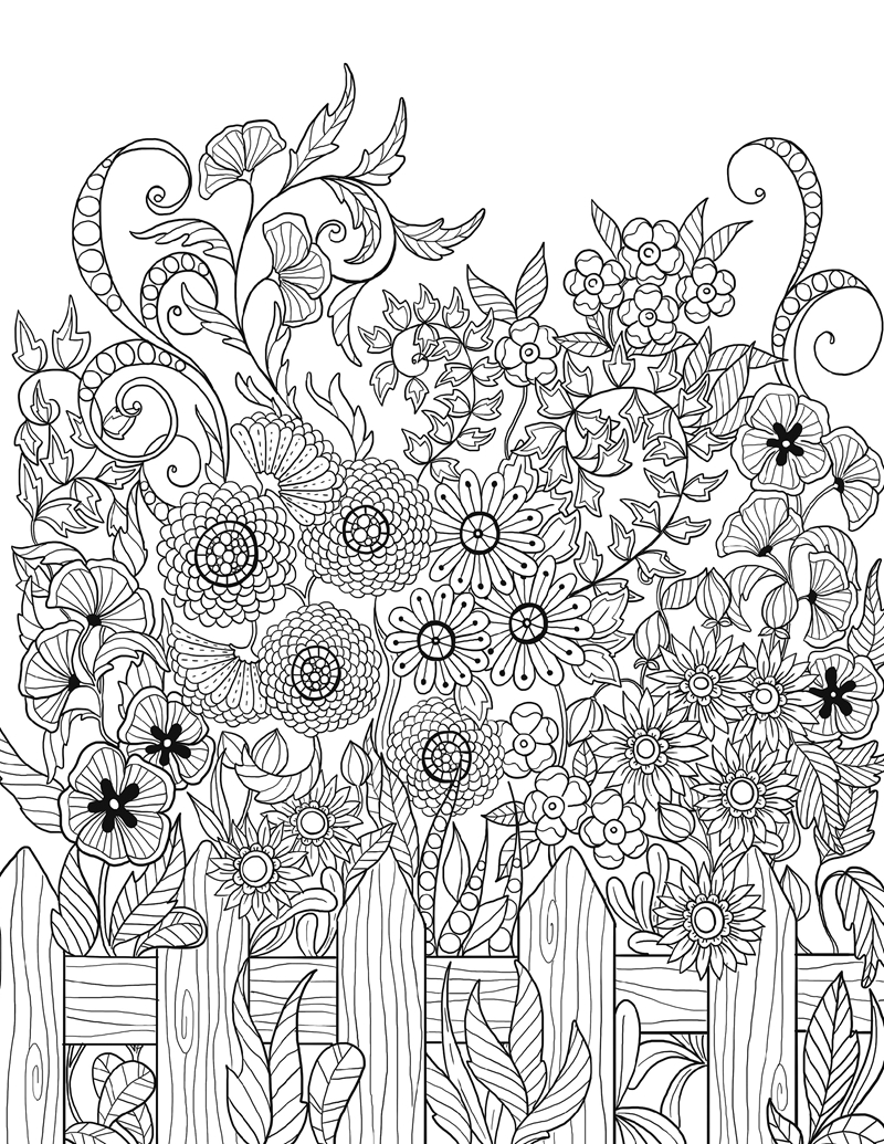 Image 5 - Lost Garden Art Coloring Notepad Colouring Book For Children Adults Relieve Stress Drawing antistress art Coloring books gift-in Books from Office & School Supplies