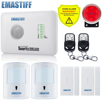 Free Shipping G10C Home Security GSM Alarm System With SMS Control NEW Door Window Gap Pet