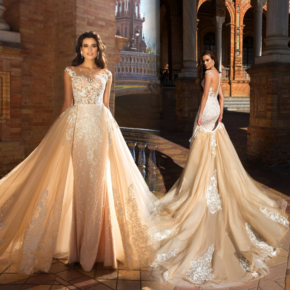 Luxury ball gown lace wedding dresses 2017 sexy backless for Luxury ball gown wedding dresses