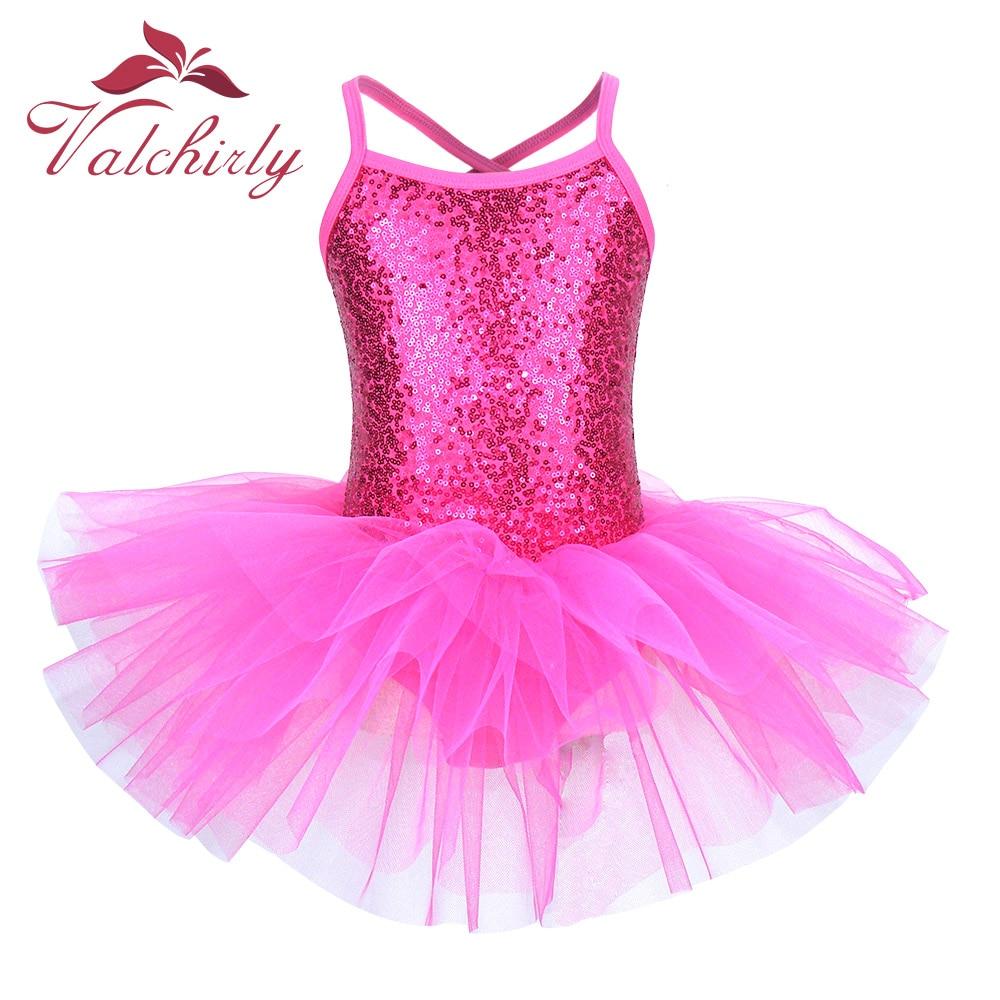Ballerina Fairy Prom Party Costume Kids Sequined Flower Dress Girls Dance wear Gymnastic Ballet Leotard Tutu Dress