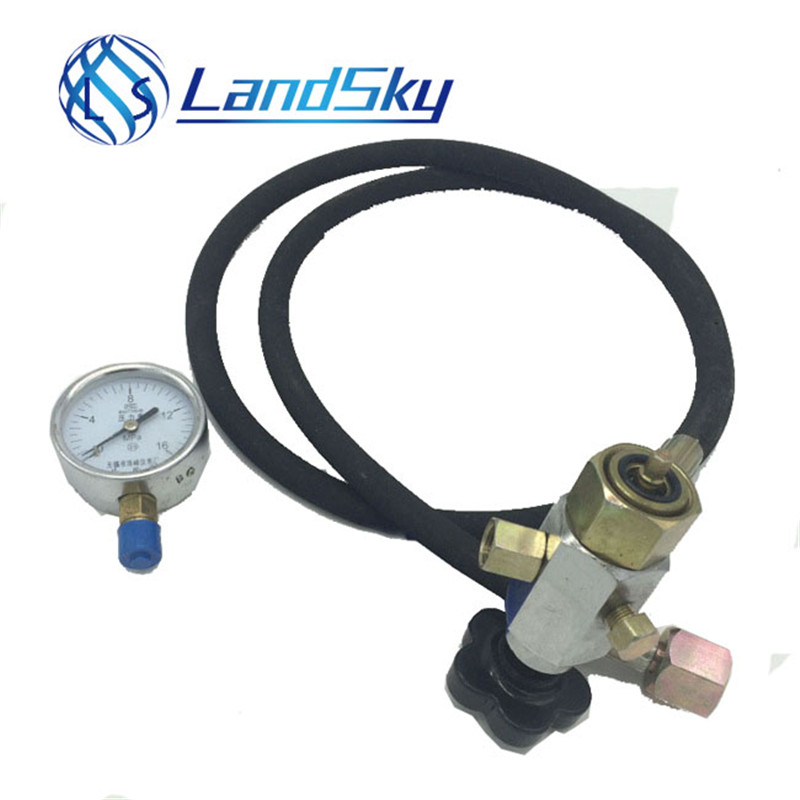 Nitrogen Inflatable Tool Hydraulic Accumulator Charging Kit Pre-filled Charging Valve CQJ-40 Inflatable Tool M14X1.5
