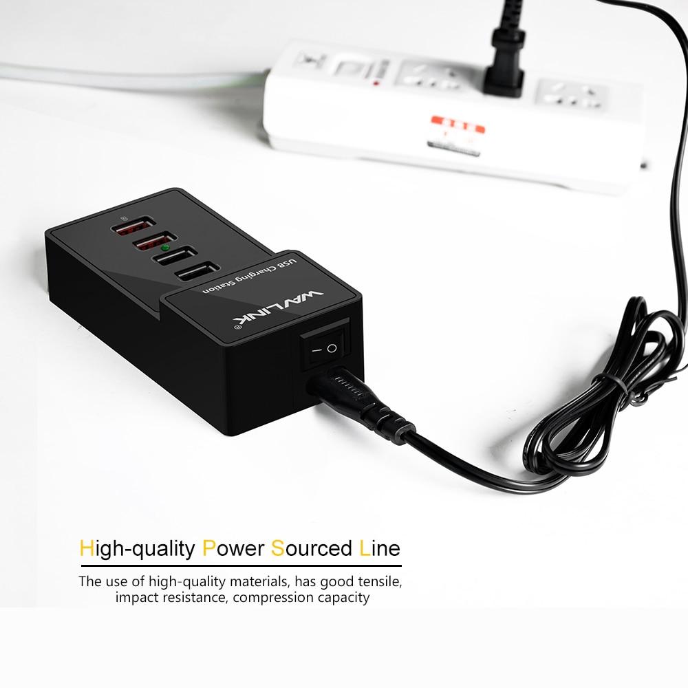 US plug 4 poort wandlader USB 3.0 laadstation met lichtnetadapter 2 - Computerrandapparatuur - Foto 5