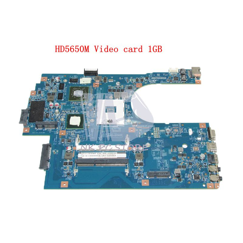 NOKOTION For Acer aspire 7741 7741G Laptop motherboard HM55 DDR3 HD5650M 1GB Video Card MBRCB01001 MB.RCB01.001 48.4HN01.01M mbpt50100 motherboard for acer aspire 7741 7741z 7741g 7741zg mb pt501 001 je70 cp 48 4hn01 01m tested good