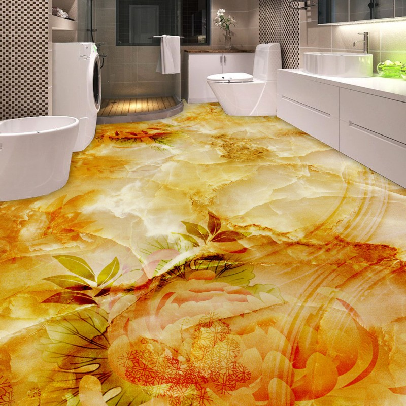 Free Shipping chrysanthemum shade bathroom bedroom living room 3D Floor thickened lifelike anti-skidding conference mural mukund shiragur d p kumar and venkat rao chrysanthemum genetic divergence