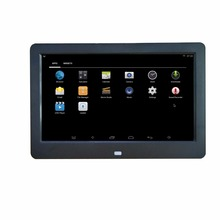 10 inch 16X9 WIFI Android operation system Ram 512MB ROM 8G support Mouse download install App software digital photo frame