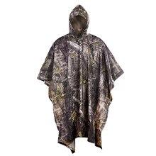 406337cbb4d Soldado libre deportes al aire libre táctico militar biónico impermeable  cubierta de lluvia carpa estera toldo para camping send.