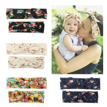 2PCS/Set Mom Mother & Daughter Kids Baby Girl Headband Hair