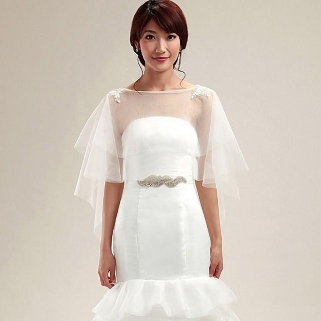 Lace Bolero Jacket Casamento Bolero Feminino Bolero Acessórios Do Casamento Baratos Apliques Bolero Mulheres Coprispalle de Sposa Mariage