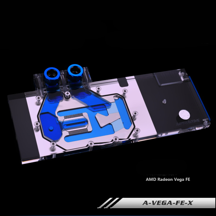 Bykski A-VEGA-FE-X Full Cover Graphics Card Water Cooling Block  for AMD Radeon Vega Frontier Edition computador cooling fan replacement for msi twin frozr ii r7770 hd 7770 n460 n560 gtx graphics video card fans pld08010s12hh