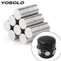YOSOLO 2 Stück Magnet Kraftstoff Economizer Auto Motoröl Filter ATV SUV Motorrad Motor Öl Saver Starke Adsorption Für Eisen körper