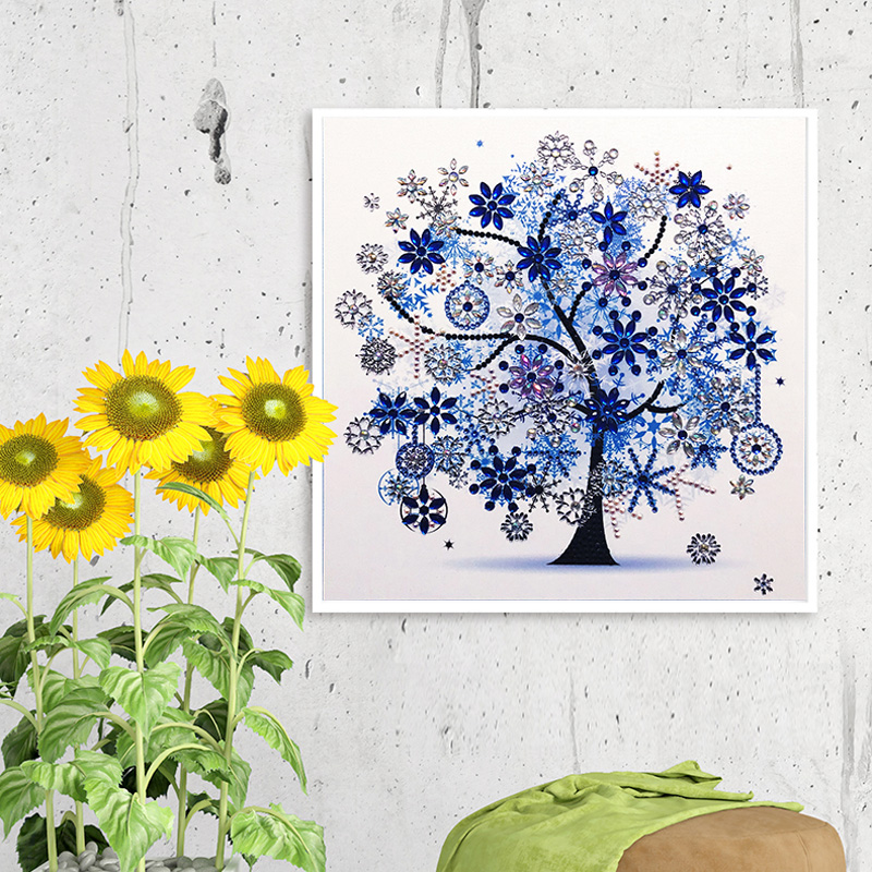 RUBOS DIY 5D Diamond Embroidery Colorful Tree Butterfly Bead Diamond Painting Cross Stitch Pearl Crystal Sale Hobby Gift Decor (29)
