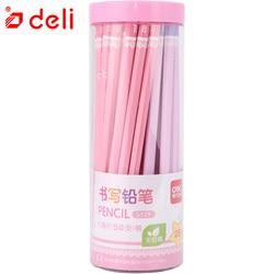 Deli 25/50Pcs Pencil 2B/HB Pencil Set Stationery Items Writing Standard Pencils For School Basswood Office & School Supplies