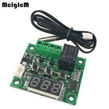 MCIGICM 50 PCS W1209 DC 12 V hitze kühlen temp thermostat temperatur control schalter temperatur controller