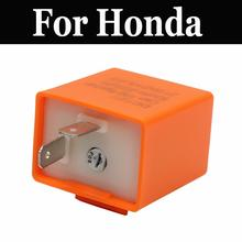 12v Led Flasher Relay Indicator Motorcycles For Honda Cb 1100c 1100r 125s 1300 350 360g 400 400a T 400f 400t 450dx 450k(China)