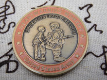 Cheap custom coins high quality  medal coin wholesale USA military solid hot sales 3d FH810285