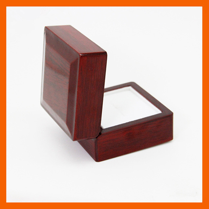 Solid Wooden Boxes Sigle Rings One Position Championship Rings With Good Look