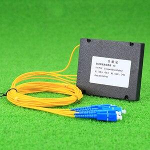 Image 3 - Kelushi新 1 × 4 テレコムplcカセットscコンパクト光スプリッタ平面導波路繊維光学分岐デバイス