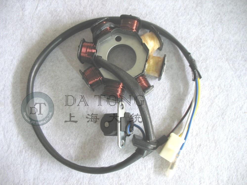 US $19.99 |8 Coil Stator Magneto Alternator Stator For Chinese GY6 on