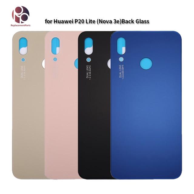 Original Back Housing for Huawei P20 lite /nova 3e Rear Battery Cover Replacment Back Door Cover Case for P20 Lite sticker