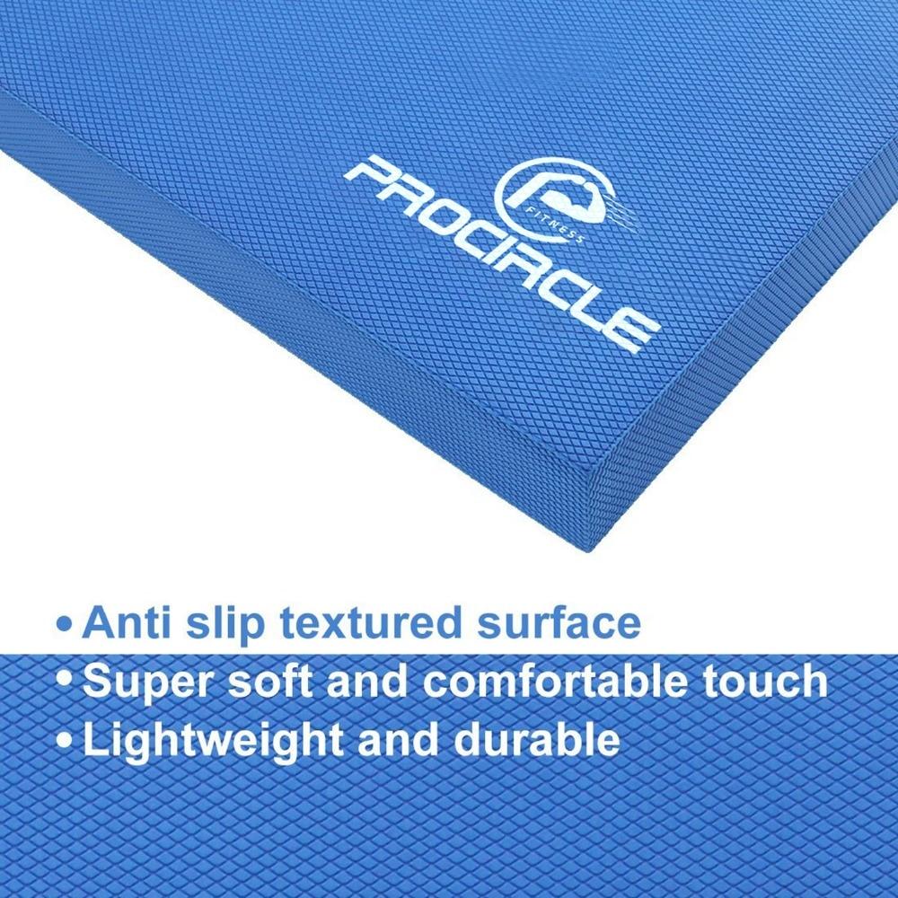 ProCircle Balance Pad - Blå Ikke Slidt Yoga Pad - Har Bare Til Yogis - Fitness og bodybuilding - Foto 6