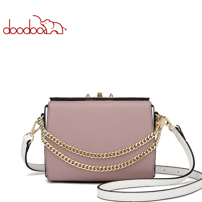 Fashion Women PU Leather Handbags High Quality Chain Messenger Bags Crossbody Bags Famous Brands Designer Shoulder Bag Package
