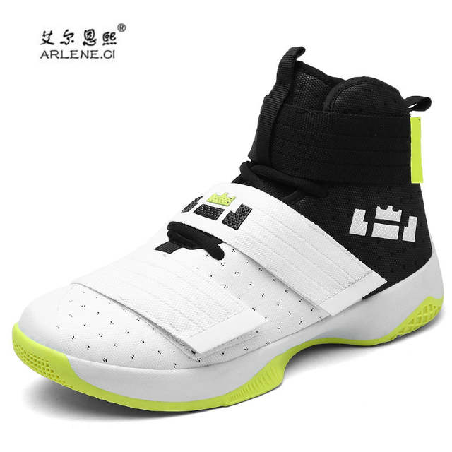 0ab49f66bd1 placeholder 2018 Professional Basketball Shoes Lebron James High Top Gym  Trainer Boots Ankle Boots Outdoor Men Sneakers