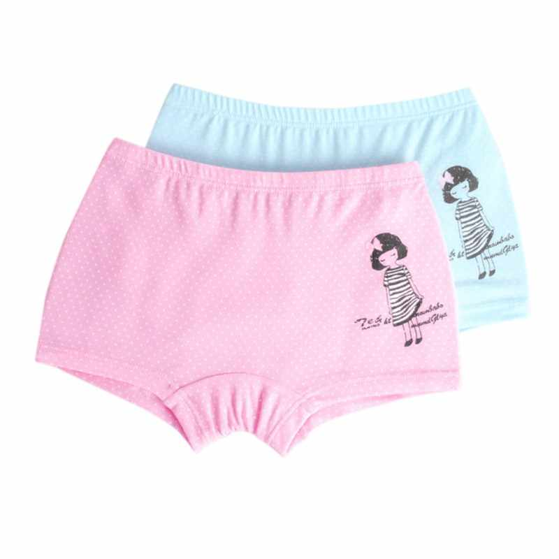 f507ae344e26 Detail Feedback Questions about Baby Girls Underwear Toddler panties for  girls 2Pcs Children Panties Solid Cotton Cartoon Print Panties Boxer Briefs  Shorts ...