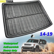 For Jeep Renegade BU Tailored 2014 2015 2016 2017 2018 2019 Rear Trunk Boot Liner Cargo Mat Luggage Tray Floor Carpet Protector