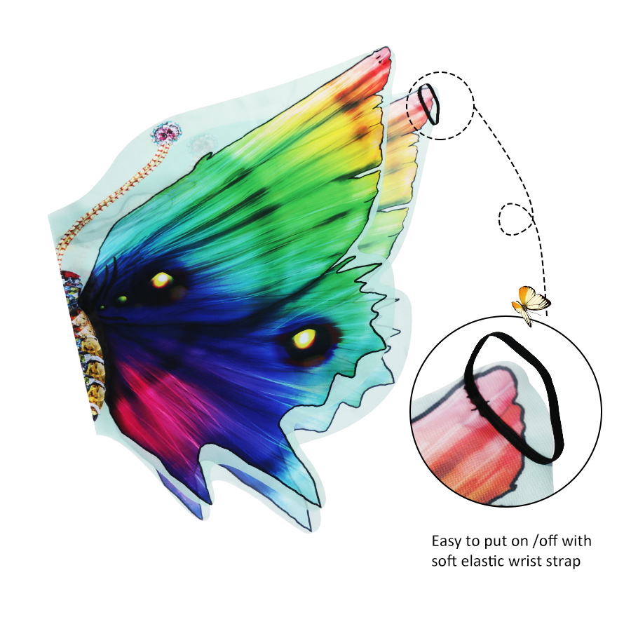 5257d5b90 120*70 cm SPECIAL Dreamy Butterfly Wings Costume for Girls Fancy Dress up  Pretend Play Party Favor Carnival Costumes Children | My Shop Name