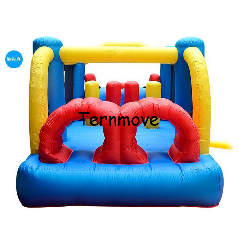 jumper combo bouncer commercial grade inflatable bouncy jumper Mini Bouncy Castle for Party Events obstacle course bounce house new design inflatable slide jumper combo bouncer for chrilren