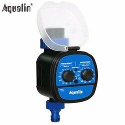 Válvula de bola impermeable de alta resistencia sistema electrónico automático de riego para jardín con función de retardo #21049