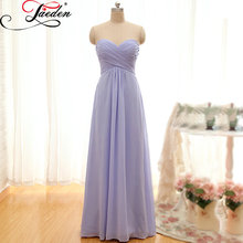 JAEDEN A Line Bridesmaid Dresses Floor Length Chiffon Off the Shoulder Elegant Pleat E093 Sweetheart Party Dresses 2017