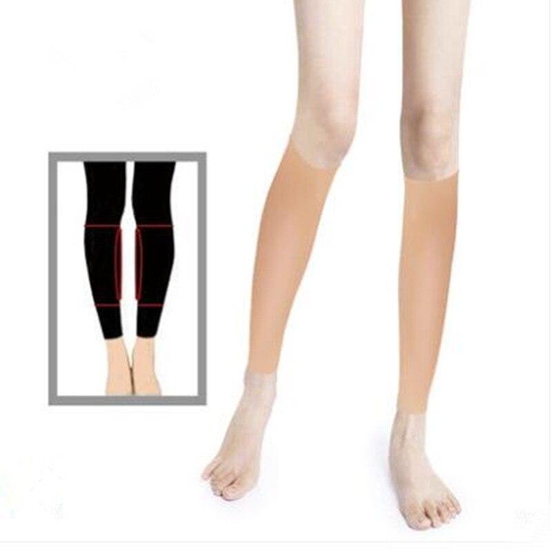 Silicone leg Enhance Shaper leg calf birthmark scar cover Soft Calf Pad Body Beauty Leg Correctors