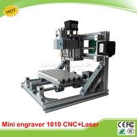 CNC 1610 500mw Laser Mini CNC Router Pcb Engrave Machine With GRBL Control