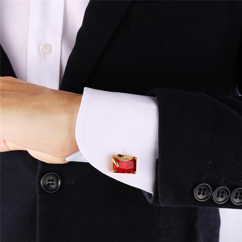 Hosaire Homme Bouton de Manchette El/égants Forme de Film de Cam/éra Hommes Costum Chemise Boutons de Manchette de Cadeau de Bijoux