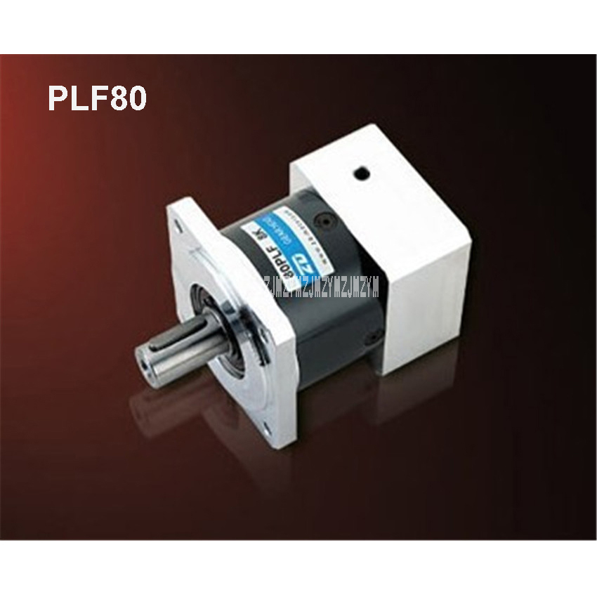 1PCS New Arrival First Speed Ratio 3-10 Gearbox PLF80 Gear Gox Reducer High-Precision Planetary Reducer Servo Stepper Reducer